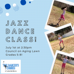 Teen Program - In Person - The Art of Dance: Learn Jazz with Lexi from Dancer's Corner