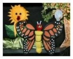 """""""The Hungry Caterpillar"""" & """"The Bear and the Beehive"""" puppet show presented by Romper Rhythm Puppets"""