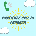 Call In Adult Program - Gratitude Call In