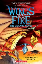 Virtual Teen Program - Graphic Novel Club - Wings of Fire: Dragonet's Prophecy bk. 1
