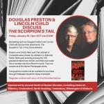 Virtual Adult Program - Douglas Preston & Lincoln Child Discuss 'The Scorpion's Tail'