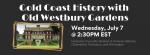 Virtual Adult Program - Gold Coast History with Old Westbury Gardens