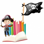 """""""Talk Like a Pirate Day"""" pirate pack raffle (ages 3.5 - 5)"""