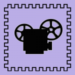 Silhouette of Film Camera