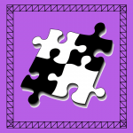 4 interlocking puzzle pieces