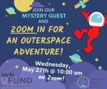 Zoom Outerspace Storytime Adventure!
