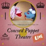 Concord Puppet Theatre: Live!