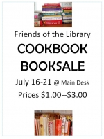 Friends of the Library Cookbook Sale