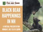 Black Bear Happenings in NH