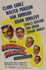 ***Cancelled***Classic Cinema Sunday:  Command Decision (1948)
