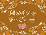 Fall Book Bingo Teen Challenge