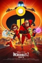 Saturday Matinee:  The Incredibles 2