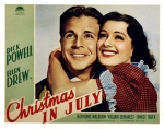Classic Cinema Sunday: Christmas in July (1940)