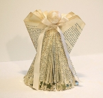 Special Holiday Crafternoon - Angel Centerpiece - Folded Book Art