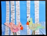Winter Bird Art