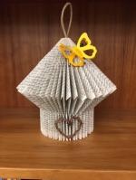 Adult Craft Kit: Folded-book Birdhouse