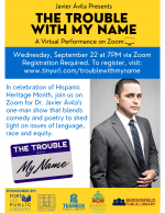 Javier Ávila Presents: The Trouble With My Name