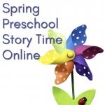 Spring Preschool Story Time Online