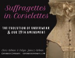 Suffragettes in Corselettes graphic