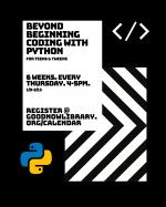 Beyond Beginning Coding with Python