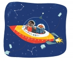 Space Explorers:  Rocket into Space!, Ages 2 & up