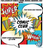 Comic Club, Ages 11+