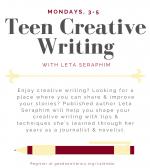 Teen Creative Writing with Leta Seraphim