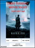 First Tuesday Movie Night - DUNKIRK (2017)