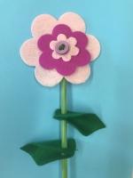Crafternoon:  Felt Flower Fun! - Grades K & up