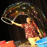 Mike the Bubble Man, ages 3 & up