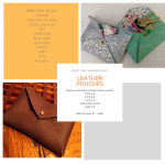 Meet the Makerspace - Leather Pouches
