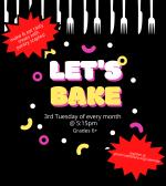 Let's Bake - Jack-o-lantern Hand Pies