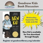 Sudbury CARES: Goodnow Kids Book Discussion, Grades 3-5 - ONLINE