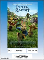 "Tuesday Summer Movie Night with Friends - ""Peter Rabbit"""