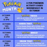 Pokémon Trivia, grades K & up