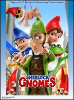Summer Flicks: Sherlock Gnomes (PG), all ages