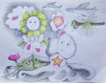 Collaborative Drawing Workshop - ONLINE, grades 2 & up