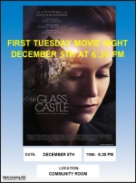 First Tuesday Movie Night - GLASS CASTLE