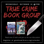 The Goodnow True Crime Book Club--ONLINE