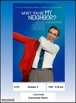 First Tuesday Movie Night: Won't You be My Neighbor