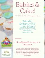 Babies & Cake! a 1,000 Books Before Kindergarten Event