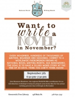 Introduction to National Novel Writing Month