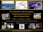 The Cold War in Bucks County: Preparing Astronauts to Win the Space Race