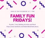 Family Fun Friday: Toy Trivia Night