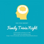 Family Trivia Night: Eggs