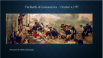 Virtual - Washington's Assault on Philadelphia - The Battle of Germantown
