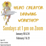 Virtual Hero Creator Drawing Workshop