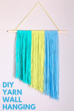 Crafternoon: Yarn Wall Hanging