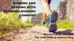 Running and Reading with Bluebird Running Company!