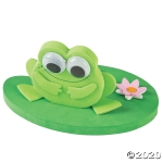 Craft Kits to Go!  3-D Floating Frog on Lily Pad!